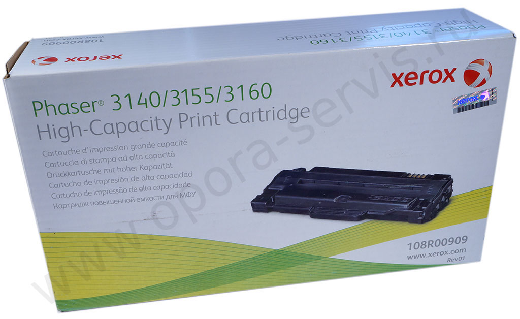 Ксерокс 3140 картридж заправка